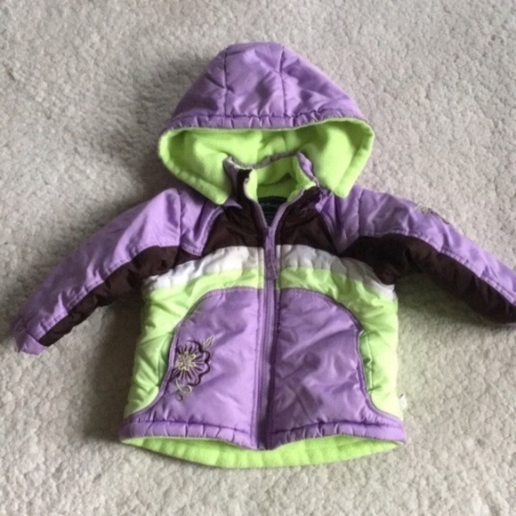 Rothschild Other - Rothschild Brown Purple Green Jacket Girl 12 Month